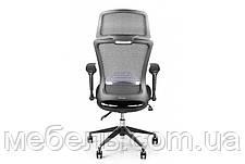 Кресло для врача Barsky BS-03 Style Black, сеточное кресло, черный, фото 3