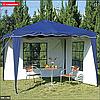 Павильон шатер садовый 3х3 с 3 стенками (тент - полиэстер+ПВХ), фото 5