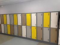 Шкаф в спортклуб. ШОМ 400 2-4, Шкаф для одежды в школу. Шкаф в раздевалку. Шафа для одягу.
