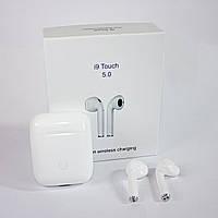 🔝 Bluetooth гарнитура для Apple - Airpods i9s-tws - беспроводные блютуз наушники с кейсом, (Сopy)