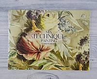 Альбом для рисования А5+ 15 л На склейке крафт-картон MUSE PD-GB-015-052 103463 Школярик Украина
