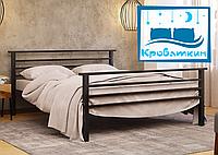 Металлическая кровать Lex-2 (Лекс-2) 80х190см Метакам