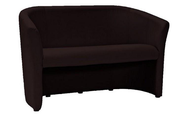 Диван-крісло TM-2 еко-шкіра темно-коричневий ЕК-18 (Signal)