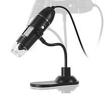 Цифровой usb-микроскоп 1000X на гибком штативе