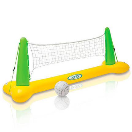 Набор для игры в волейбол Intex 56508 239х64х91 см волейбол на воде, фото 2