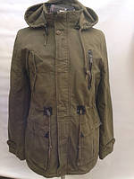 Весенняя осенняя модная мужская куртка парка хаки