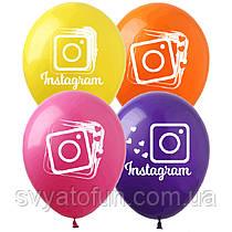 """Латексные шарики Instagram 4 цвета IN-1 12"""" 20шт ArtShow"""