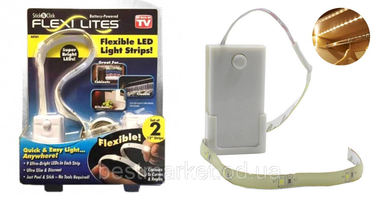 Светодиодная LED Подсветка в Шкаф Flexi Lites Stick