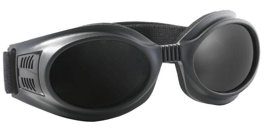 Очки защитные затемненные. Модель 2 в 1 SPIDLUX Anti-fog