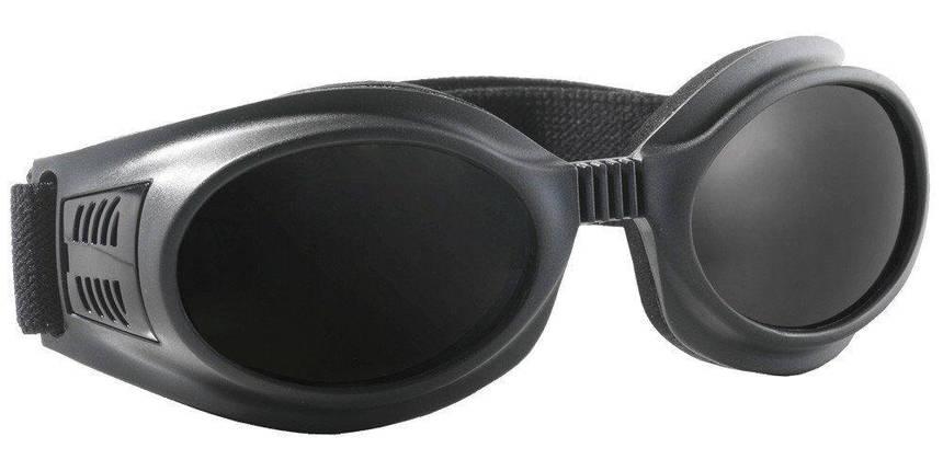 Очки защитные затемненные. Модель 2 в 1 SPIDLUX Anti-fog, фото 2