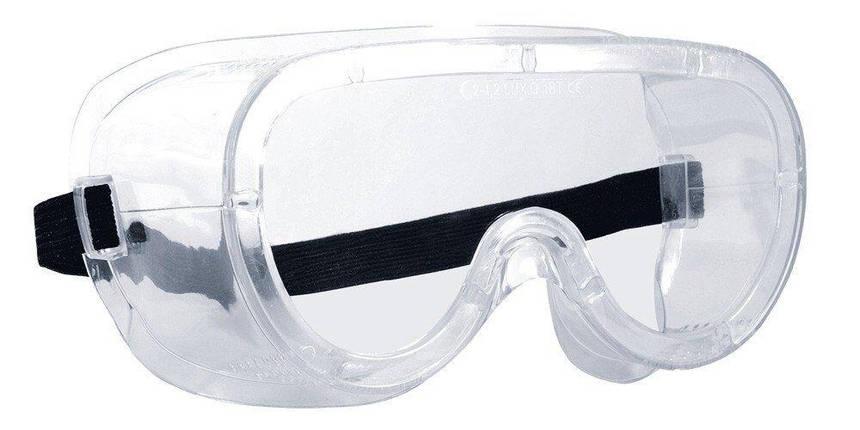 Очки прозрачные с прямой вентиляцией MONOLUX, фото 2