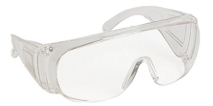Очки защитные прозрачные VISILUX-AR с покрытием от царапин, фото 2