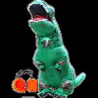 Надувний костюм T-REX, Зелений