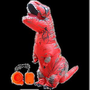 Надувной костюм T-REX, Красный