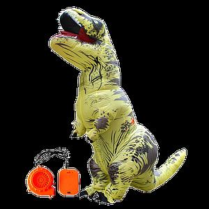 Надувний костюм T-REX, Жовтий