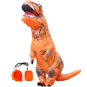 Надувной костюм T-REX, Оранжевый