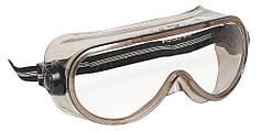 Очки закрытого типа прозрачные с непрямой вентиляцией SIELLUX