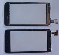 Lenovo A526 сенсорний екран, тачскрін чорний