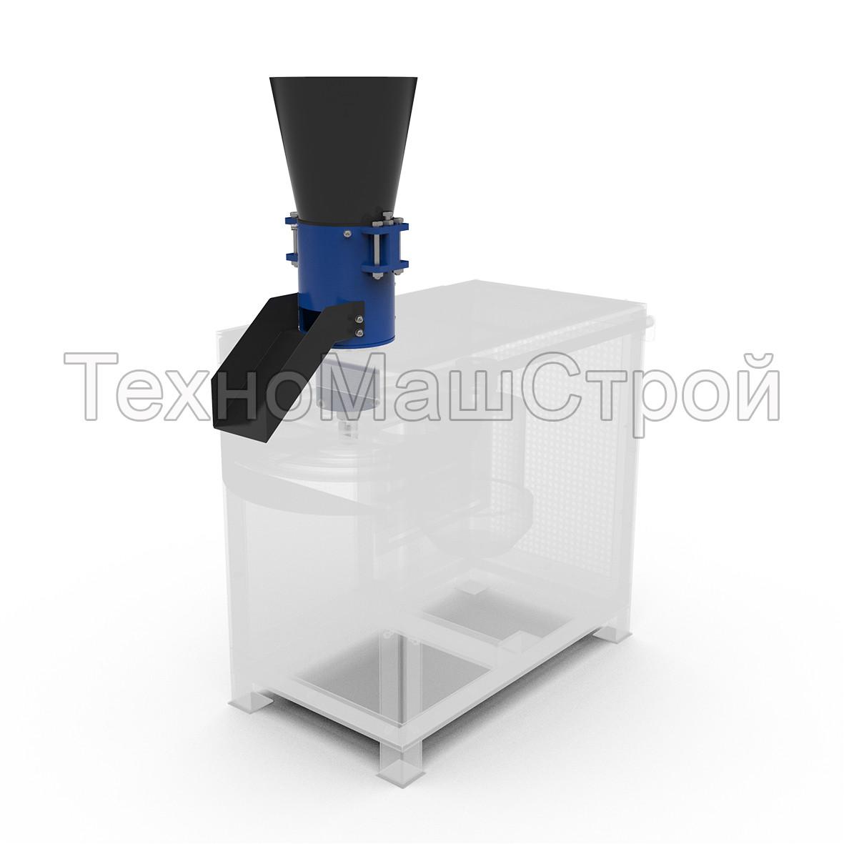 Рабочая часть гранулятора ГКМ 150, 100 кг/час