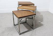 Табурет стол в стиле Лофт 3 в 1 TRANSFORMER