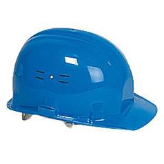 Каска строительная защитная Classic, синяя