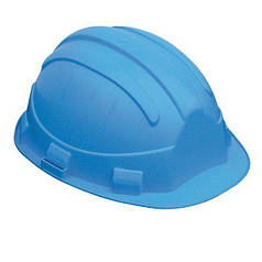 Каска строительная защитная OPAL, синяя
