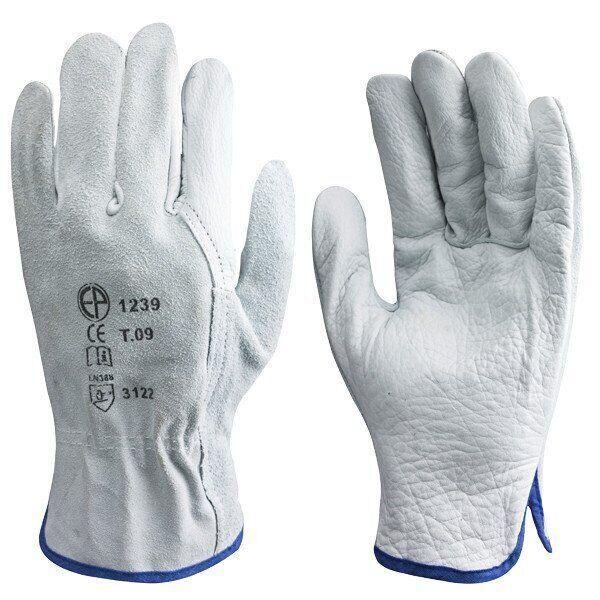 Перчатки рабочие кожа + спилок