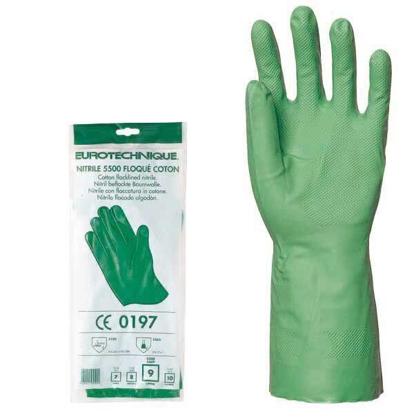 Перчатки акрилонитриловые, КЩС