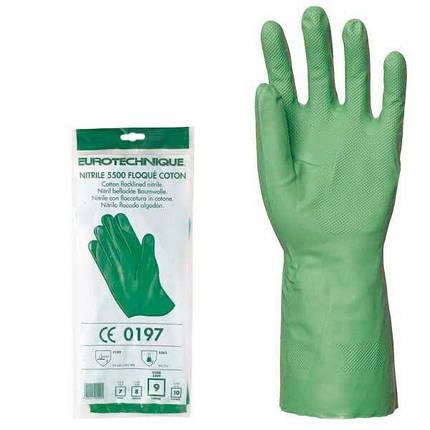 Перчатки акрилонитриловые, КЩС, фото 2