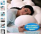 Анатомическая подушка для сна Egg Sleeper | Ортопедическая подушка для сна | Подушка с эффектом памяти, фото 4