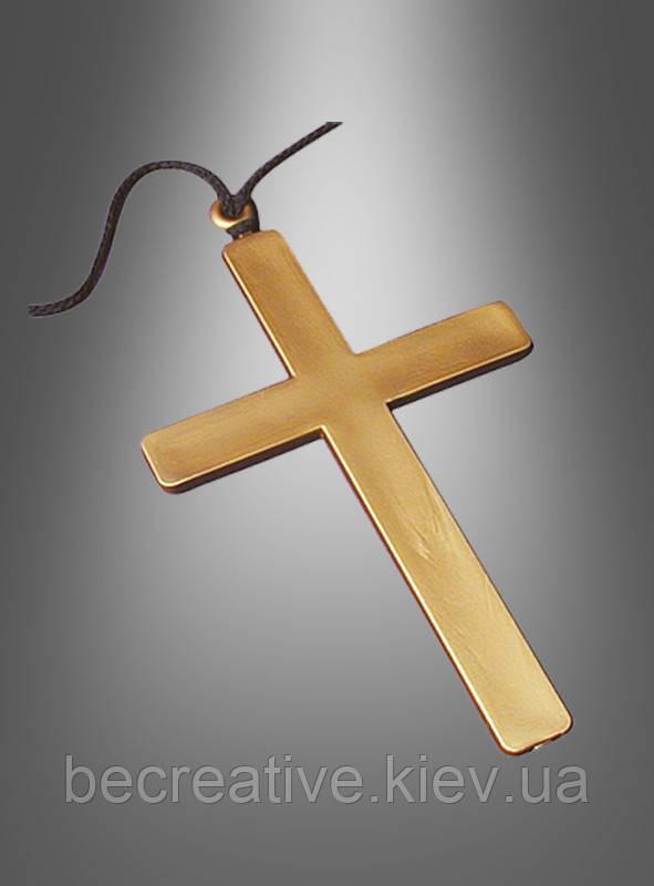 Украшение в виде креста для карнавальных костюмов