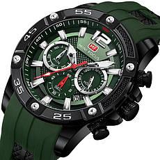 Наручные кварцевые мужские часы Mini Focus MF0349G Black-Gold, фото 2