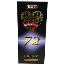 Шоколад чорний  72% 100г ТМ Torras