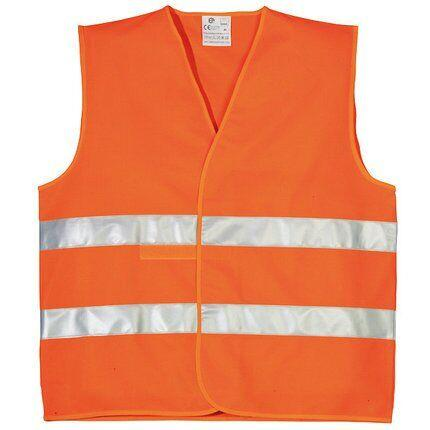 Жилет сигнальний Yard з подвійною світловідбиваючою смужкою, помаранчевий