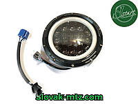 Cветодиодная LED фара 75Вт Нива, УАЗ 469, ВАЗ 2101, 2121, FJ Cruiser, мотоцикл, мото 7 дюйм
