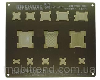 Трафарет BGA Mechanic A12 для iPhone XS, iPhone XR, iPhone XS Max