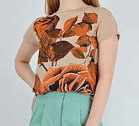 Женская блуз-футболка шифон i cel  Турция 2364