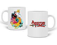 Кружка Время приключений (Adventure Time) 330 мл Чашка Керамическая (20259-1582), фото 1