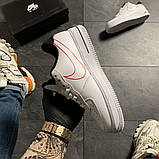 Женские кроссовки Nike Air Force 1 '07 LX White, женские кроссовки найк аир форс 1 '07, фото 2