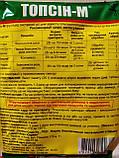 Фунгицид системного действия Топсин М для сельскохозяйственных культур 25 грамм на 3 сотки, Украина, фото 2