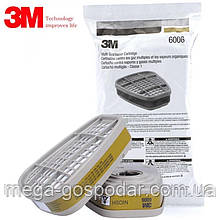 Фильтр угольный 3М 6006 (А1),фильтр для респираторов