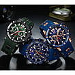 Наручні чоловічі кварцові годинники Mini Focus MF0349G Blue-Black, фото 5