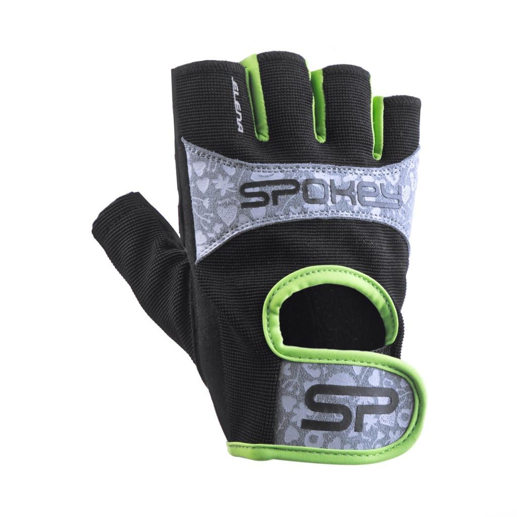Женские перчатки для фитнеса Spokey ELENA II 921313 (original), спортивные атлетические тренировочные