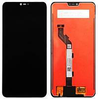 Дисплей (модуль) для Xiaomi Mi8 Lite (M1808D2TG) Черный Оригинал
