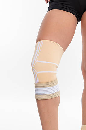 Бандаж спортивный для колена Spokey Segro 838561 (original), наколенник, фиксатор для коленного сустава, фото 2