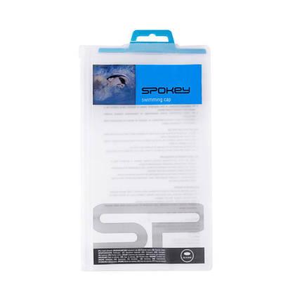 Шапочка для плавания Spokey Abstract 85364 (original) для бассейна, силикон, фото 2