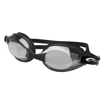 Очки для плавания Spokey DIVER 84070 (original) для взрослых, зеркальные, силиконовые, фото 2