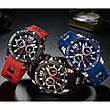 Наручні чоловічі кварцові годинники Mini Focus MF0349G Blue-Rose-Gold, фото 6