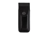 Чехол для магазина ПМ (Пистолет Макарова), подсумок формованный кнопка (кожа, черный)