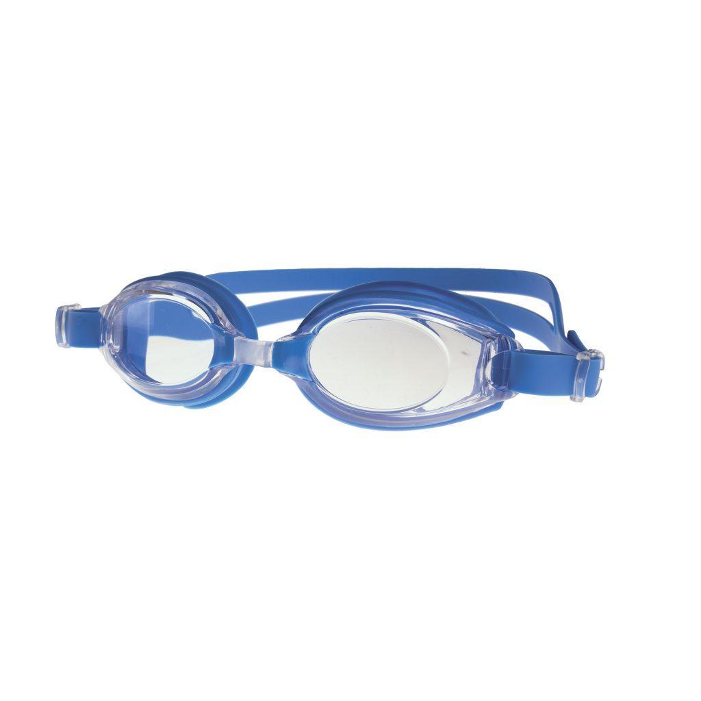 Очки для плавания Spokey DIVER CLEAR 839206 (original) для взрослых, регулируемые, силиконовые
